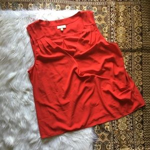 ModCloth | Red Faux Wrap Tank
